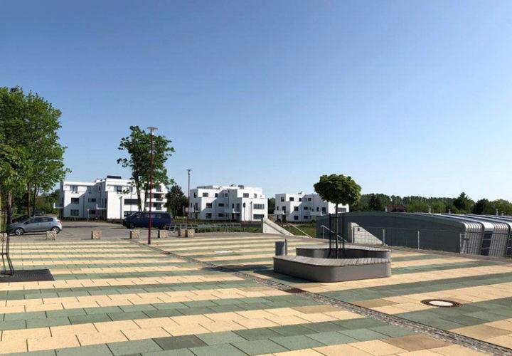 <p>Seestadt Großräschen<br /> Fertigstellung von 5 Wohnvillen</p>