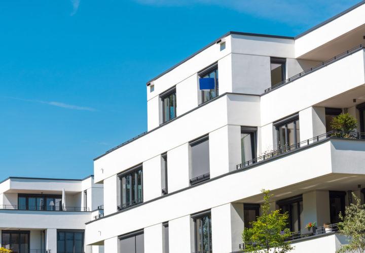 """<p>Der zweite Bauabschnitt der Wohnanlage """"Hafenblick"""" in Großräschen</p>"""